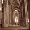 Wnętrz katedry w Kolonii