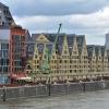Żurawie domy, Rheinauhafen, Kolonia, Niemcy
