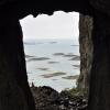 Torghatten, widok z wnętrza dziury