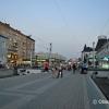 Moskwa, peron, skąd odchodzi kolej transsyberyjska, Kilometr 0