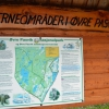 Tablica u wejścia do Parku Narodowego Øvre Pasvik
