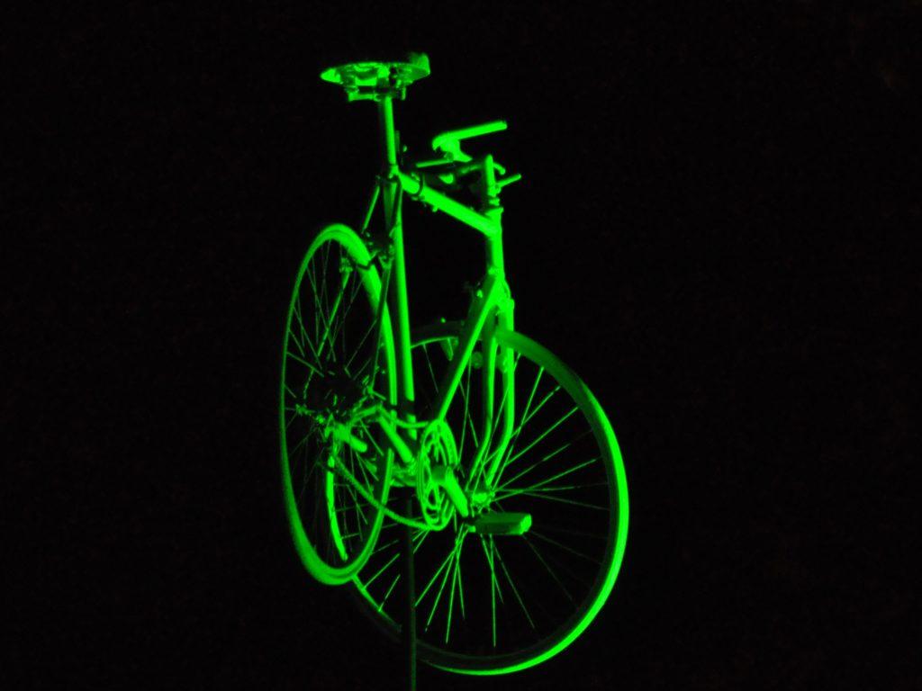 Zielony rower