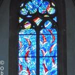 Witraże Chagalla w kościele św. Szczepana, Moguncja, Niemcy