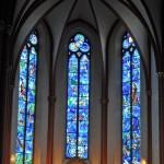 Wiraże Chagalla w kościele św. Szczepana, Moguncja, Niemcy
