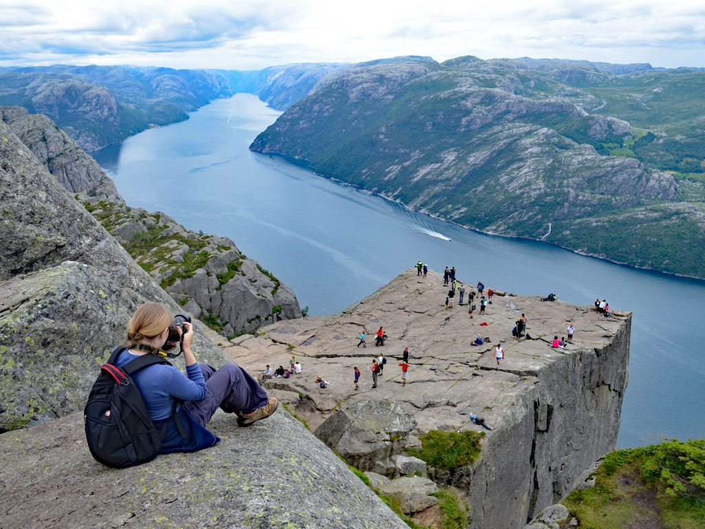 Preikestolen, Norwegia