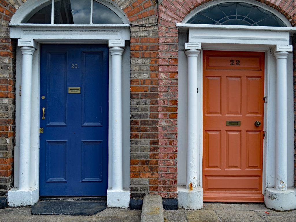 Dublińskie drzwi