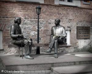 Oscar Wilde i Eduard-Vilde w Tartu