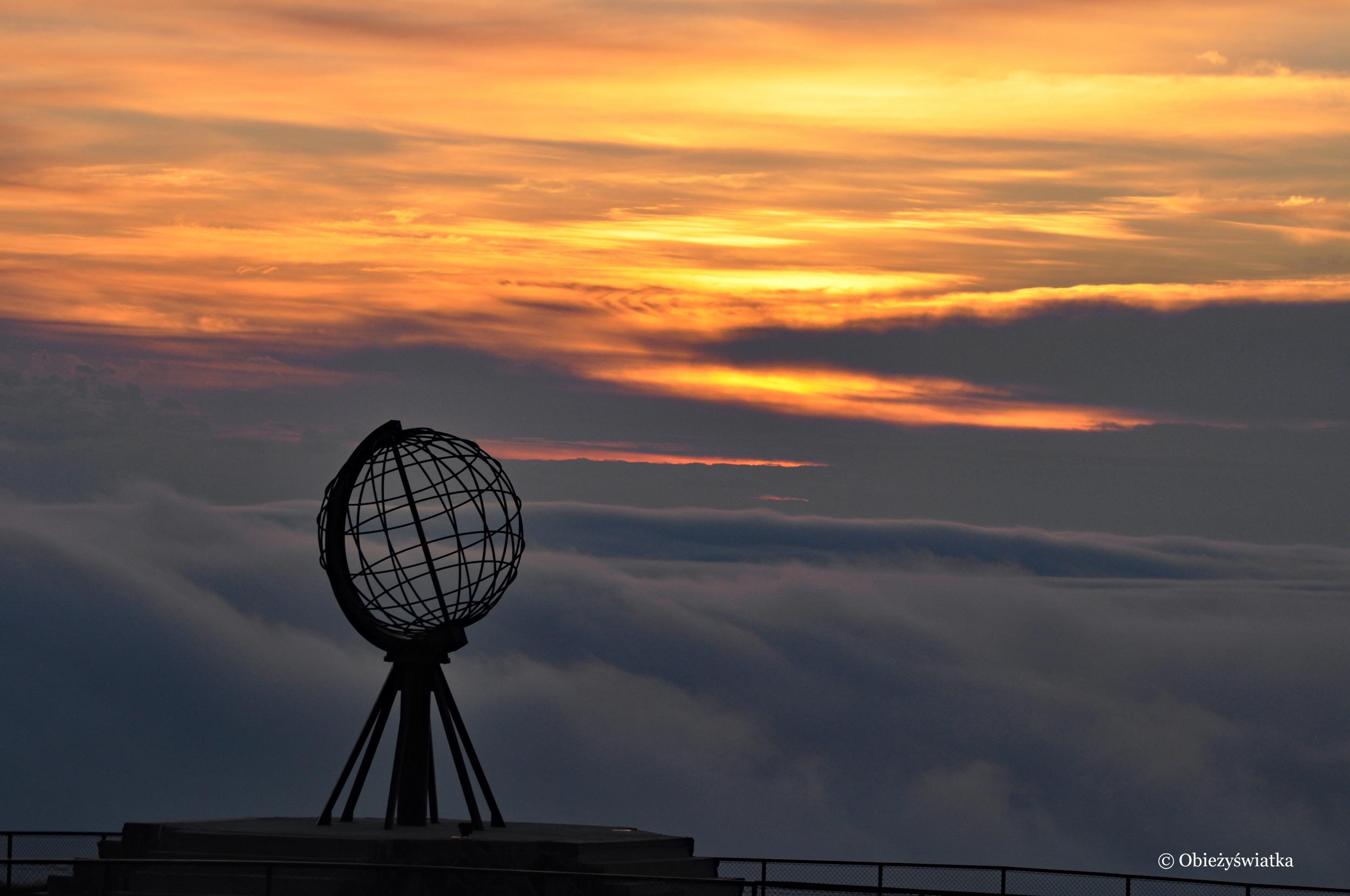 Chmury, chmury, chmury... , Nordkapp / Przylądek Północny, Norwegia