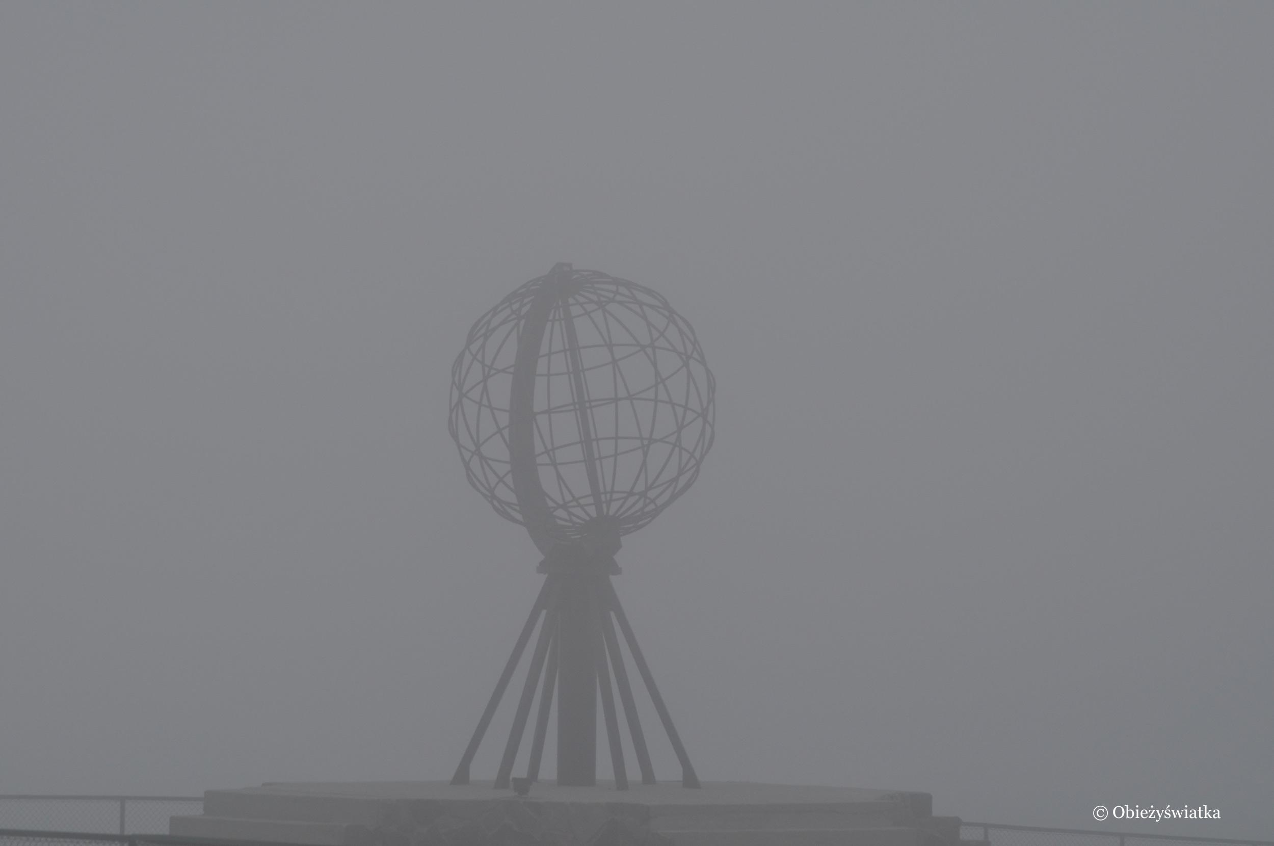We mgle , Nordkapp / Przylądek Północny, Norwegia