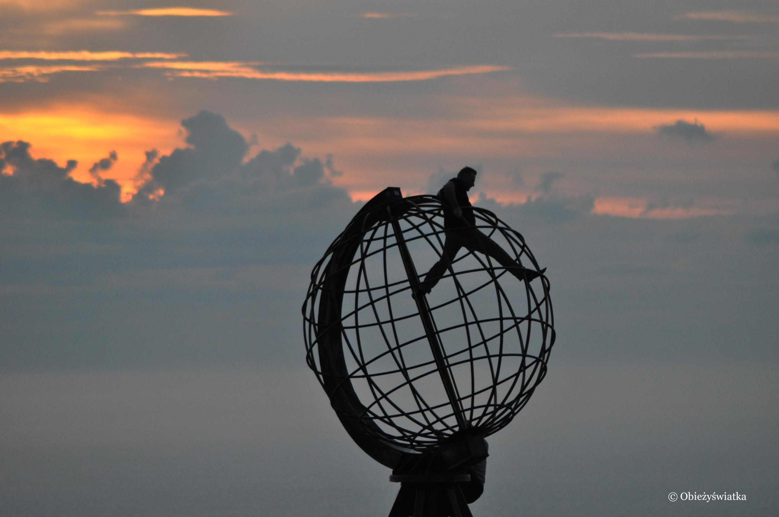 Globus - Nordkapp, Norwegia