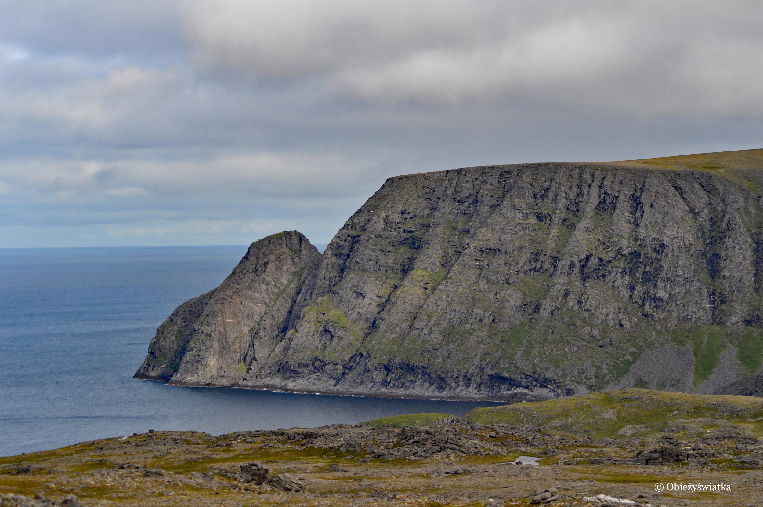 Skały Przylądku Północnego, Nordkapp, Norwegia