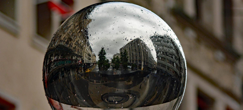 Genewa w deszczu
