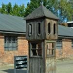 Budka Kaduka na placu apelowym w Stammlagrze - KL Auschwitz