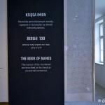 Księga imion, blok 27 wystawa Szoa