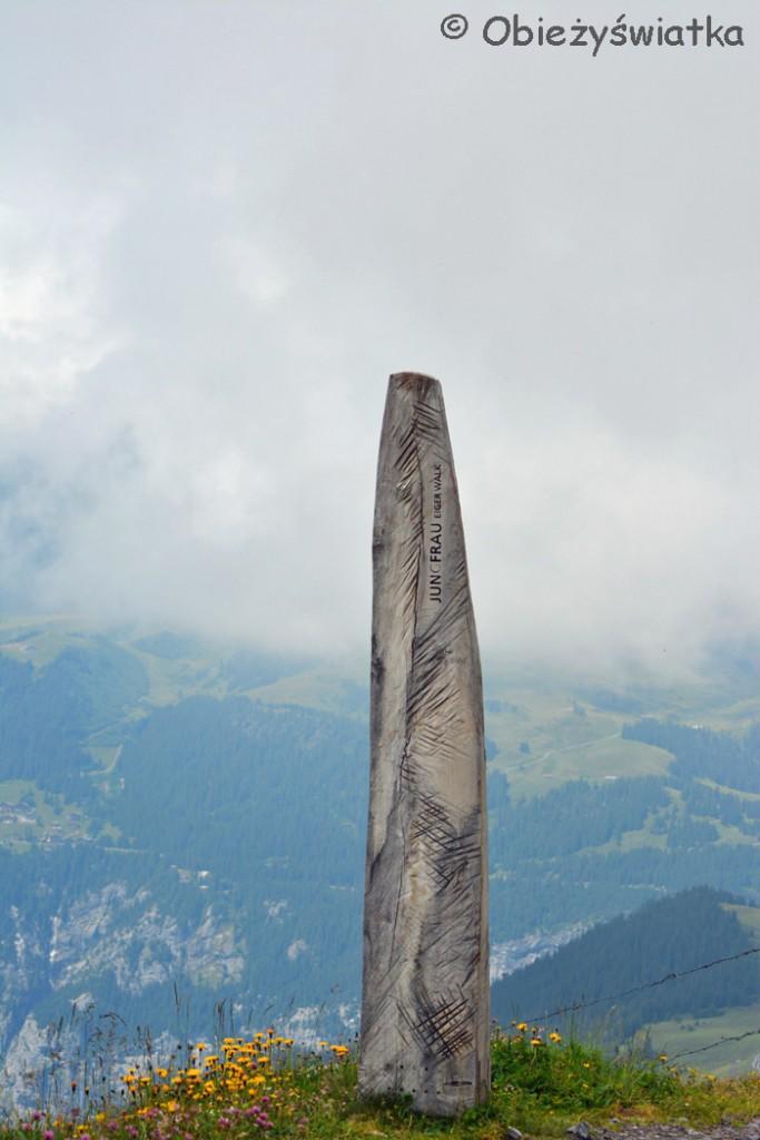 Eiger Walk - punkt startu