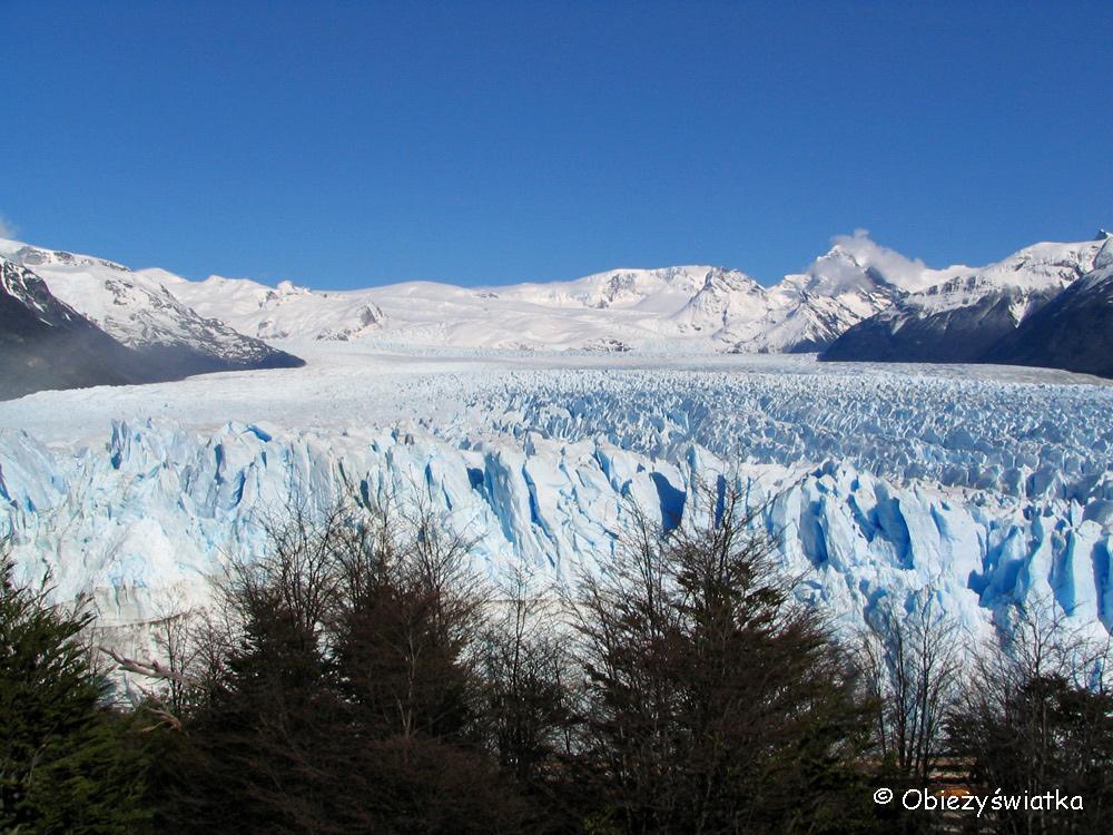 Czoło lodowca Perito Moreno, Argentyna