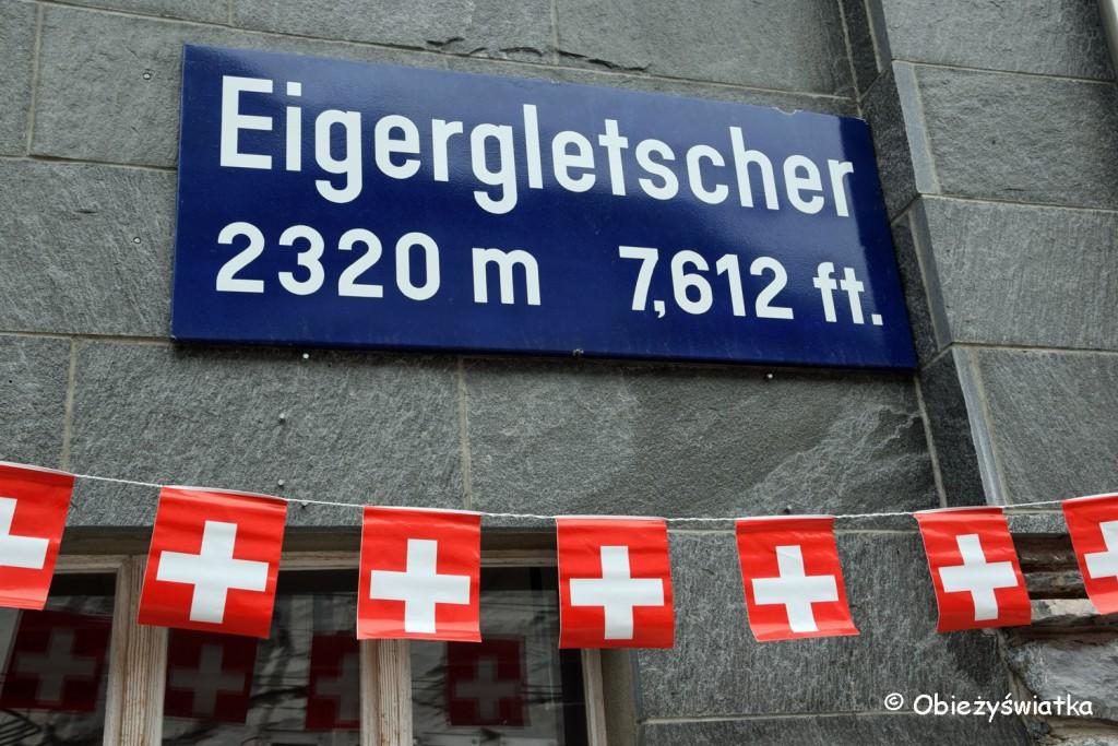 Stacja kolejowa Eigergletscher 2320 m n.p.m.