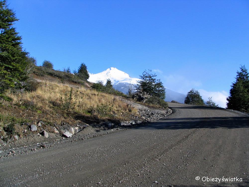 W drodze do lodowca Perito Moreno