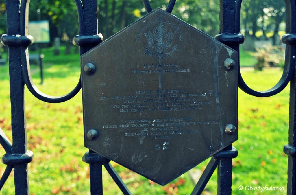 Brama cmentarza żydowskiego w Tarnowie