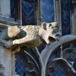 Maszkaron na Katedrze w Canterbury