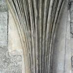 W krużgankach w Canterbury