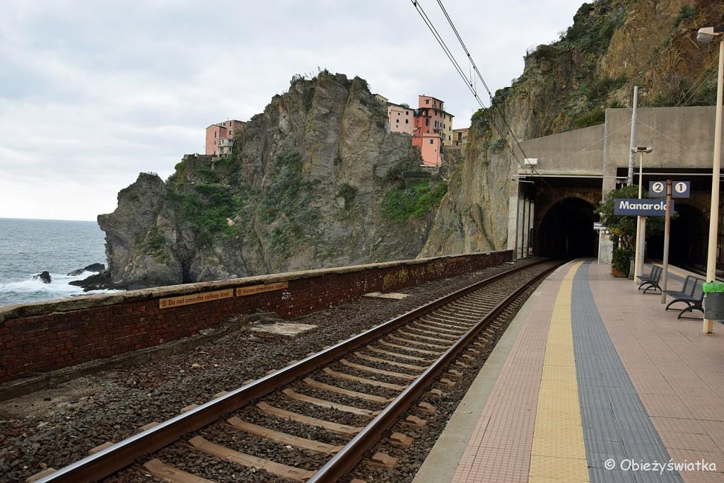 Na dworcu kolejowym, Manarola, Cinque Terre