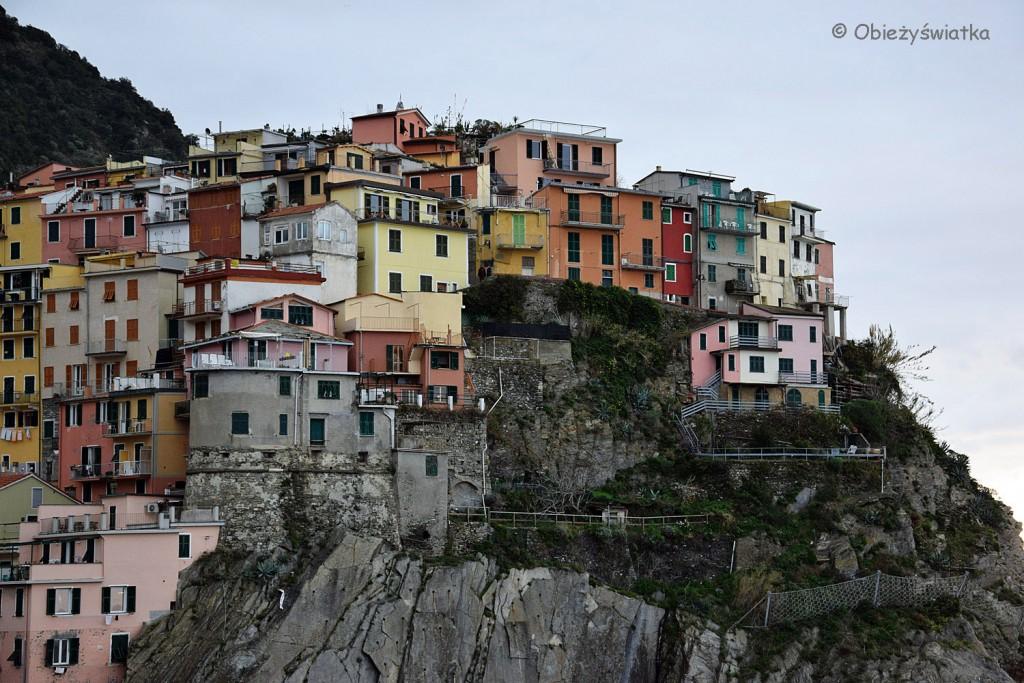 Domy na skale, Manarola, Cinque Terre