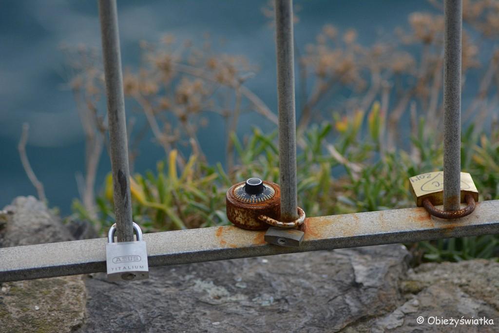 Kłódki miłości w Manaroli, Cinque Terre