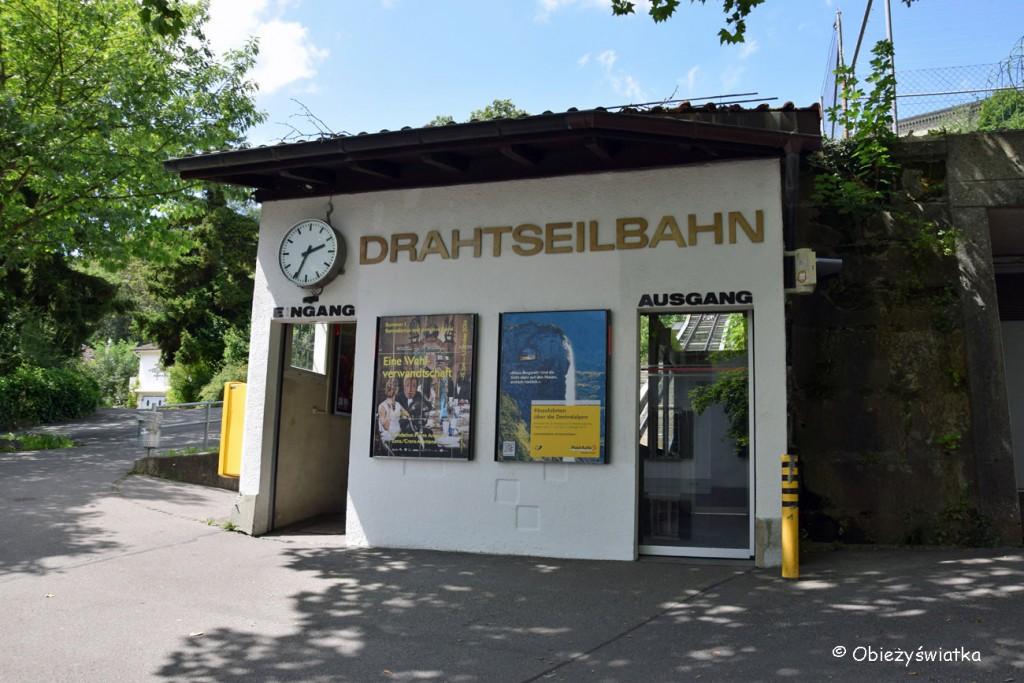 Stacja dolna Marzilibahn w Bernie