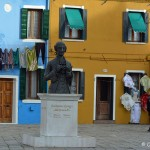 Baldassare Galuppi - pomnik kompozytora, który w Burano się urodził