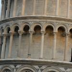 Krzywa Wieża w Pizie - zbliżenie