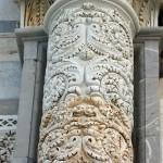 Jedna z kolumn katedry w Pizie