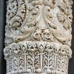 Zdobienia kolumny katedry w Pizie