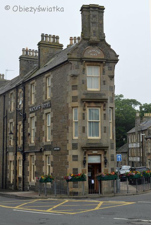 Najkrótsza ulica świata - Ebenezer Place, Wick, Szkocja