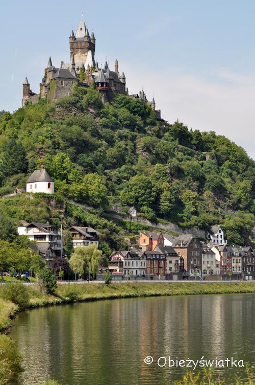Zamek Reichsburg w Cochem