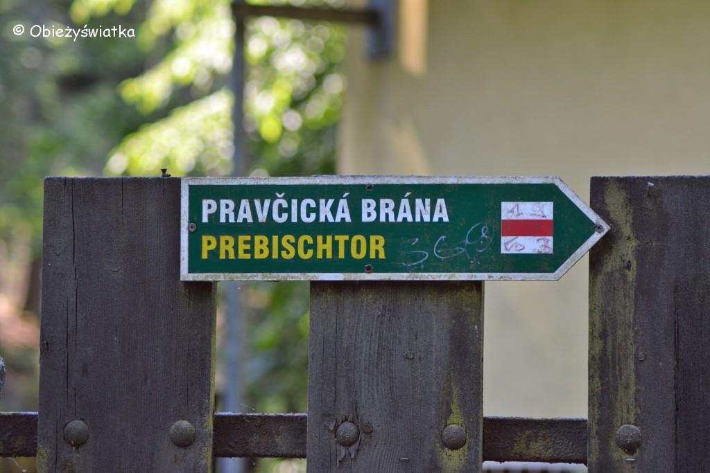 Szlak do Bramy Pravčickiej, Czeska Szwajcaria, Góry Połabskie