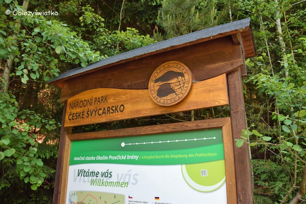 Park Narodowy Czeska Szwajcaria w Górach Połabskich