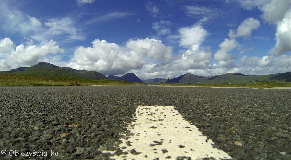 Glen Coe, Highlands, Szkocja - u końca doliny (strona południowa)