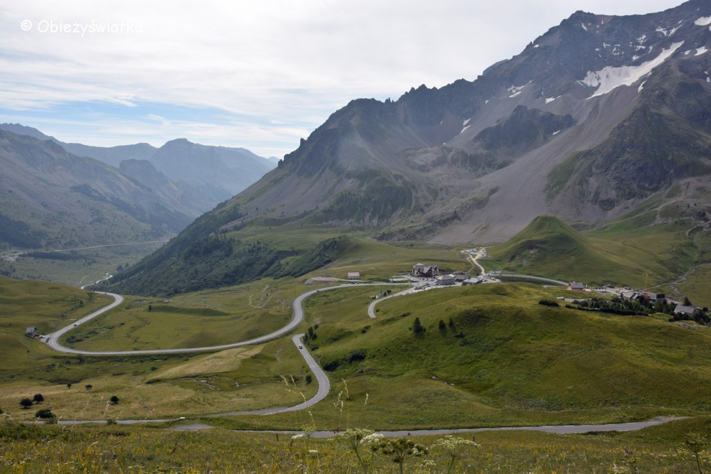 W drodze na Col du Galibier - 2642 m n.p.m., Alpy, Francja