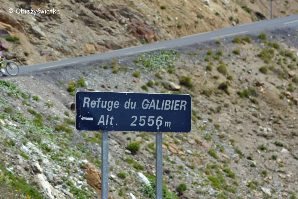 W stronę schroniska pod Przełęczą Col du Galibier - 2642 m n.p.m., Alpy, Francja