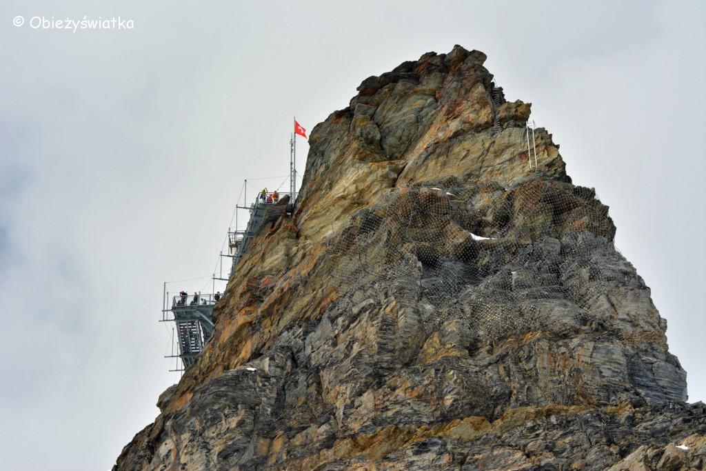 Jungfraujoch - 3471 m n.p.m. / Platforma widokowa
