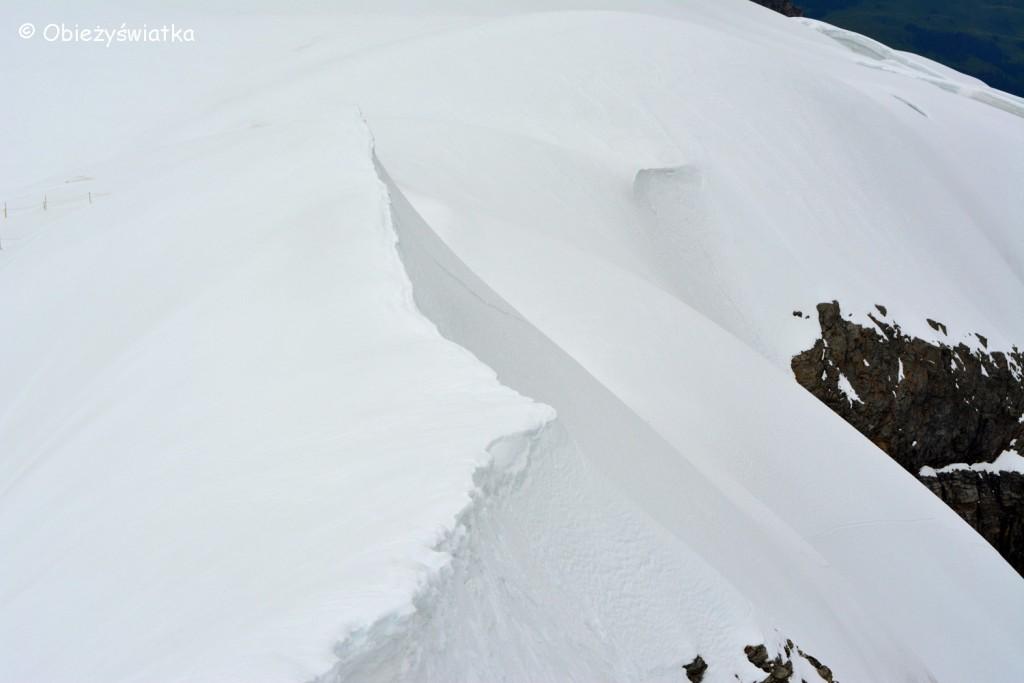 Biało, biało, biało - Przełęcz Jungfraujoch