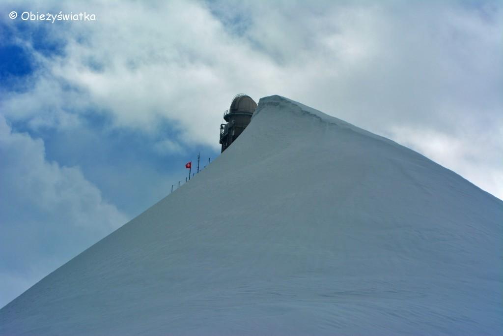 Centrum turystyczne na Przełęczy Jungfraujoch