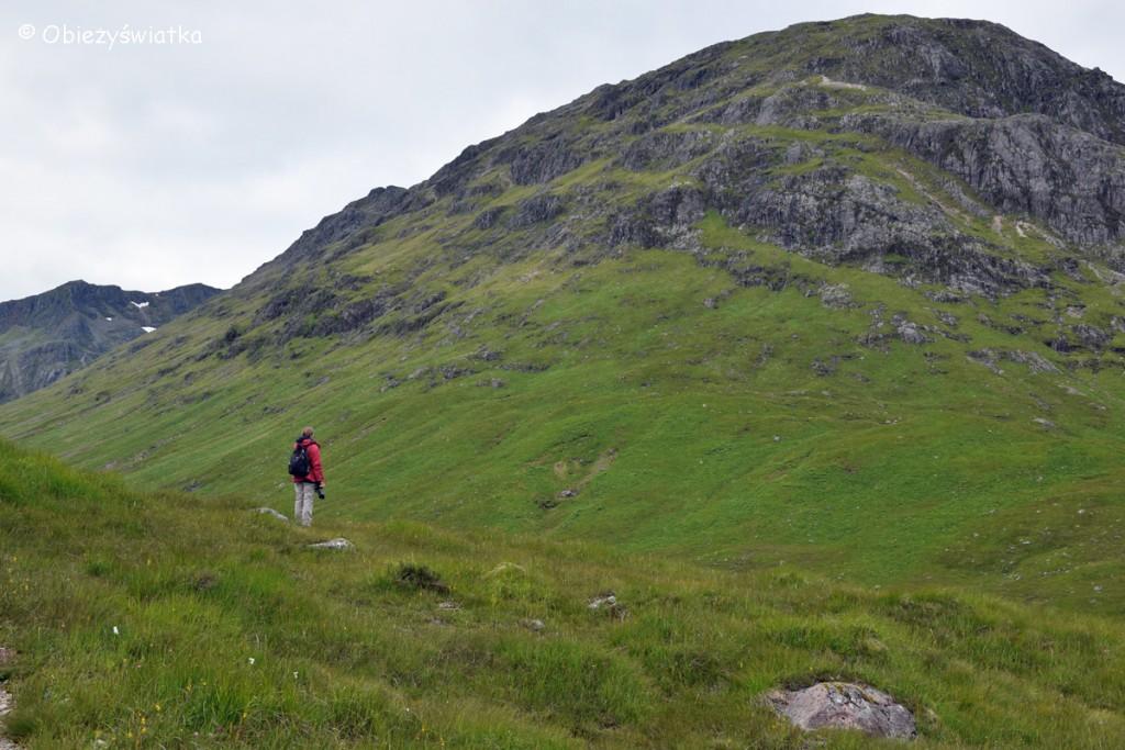 Na szlaku w Glen Coe, Szkocja