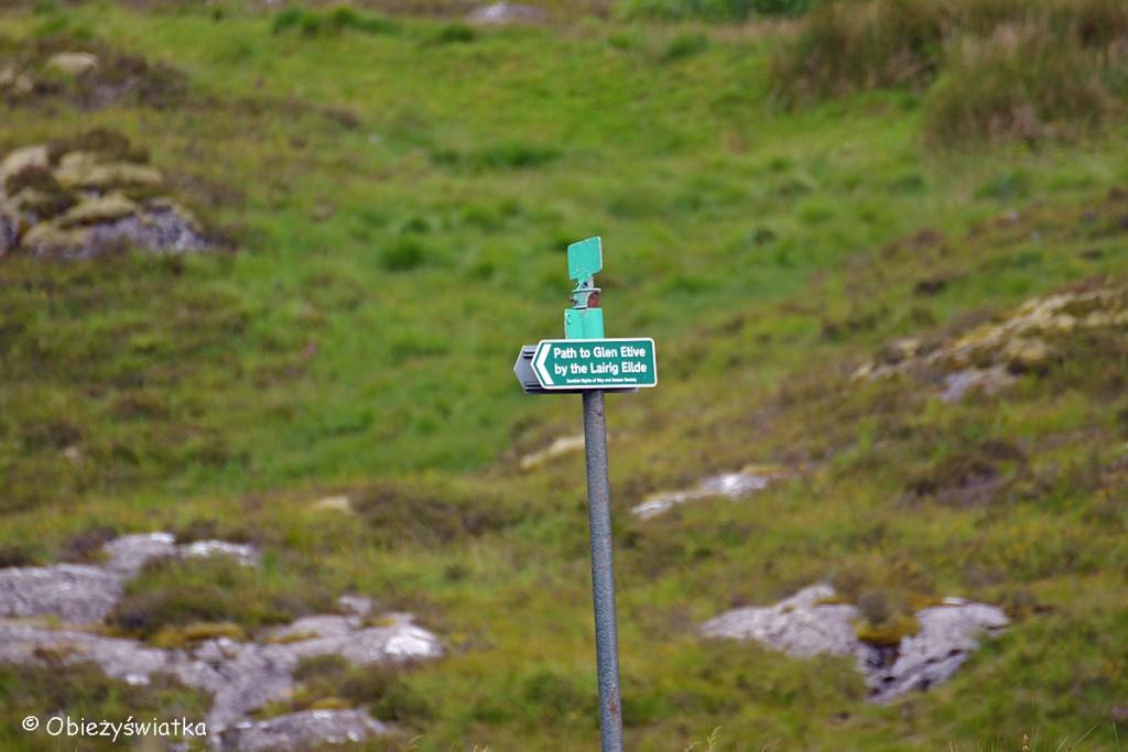 W drodze do Glen Etive, Szkocja