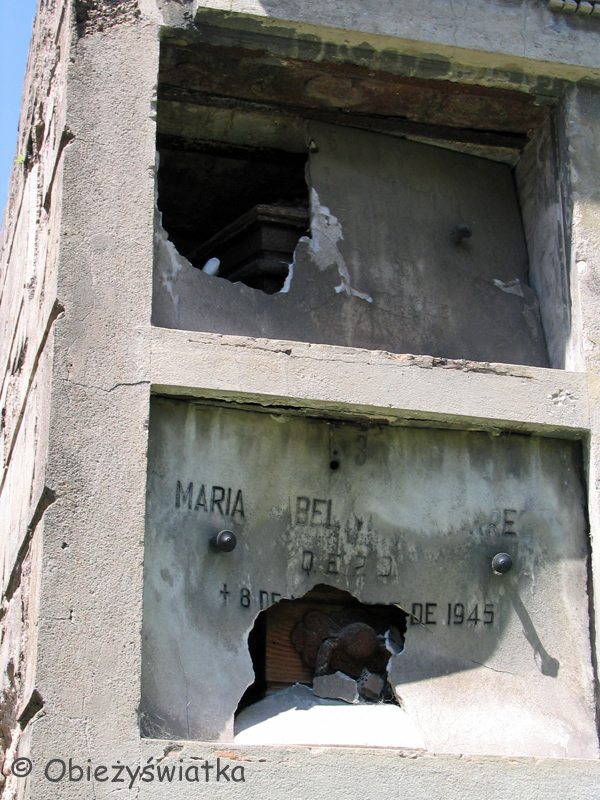 Cmentarz Recoleta w Buenos Aires