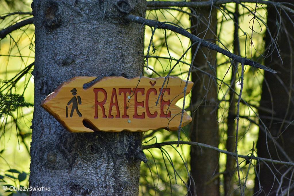 Startujemy z wioski Ratece, Słowenia