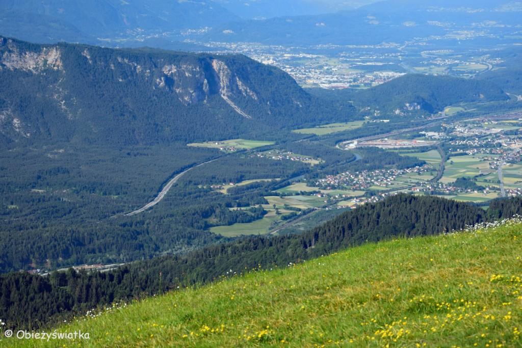 Na trójstyku - widok na stronę austriacką