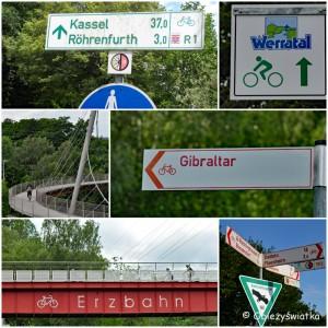 Ścieżki rowerowe w Niemczech, prowadzą nawet na Gibraltar ;)