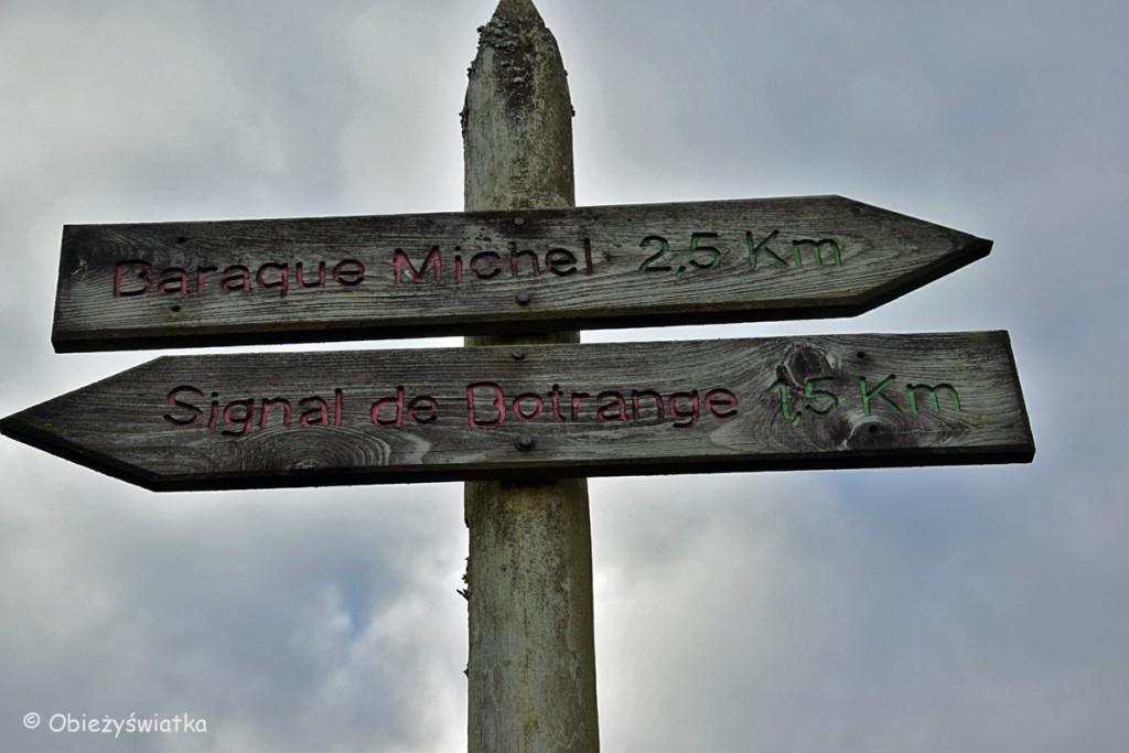 Szyldy na szlakach, Hautes Fagnes/Hohes Venn - belgijski park krajobrazowy